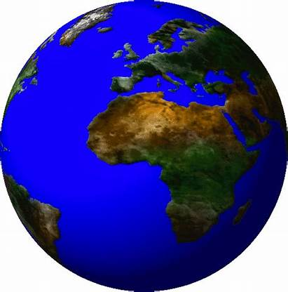 Spinning Earth Animation Globe Global Experiences Powerpoint