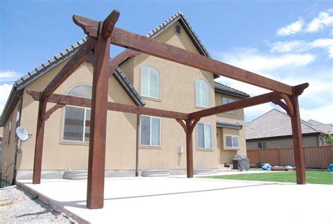 pergola roofing design ideas western timber frame
