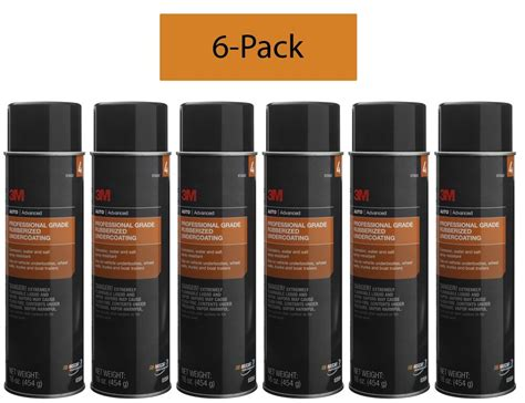 (6-pack) 3m 03584 Professional Grade Rubberized