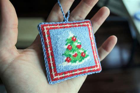 diy needlepoint ornament finishing kellbot kellbot