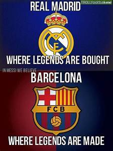 Fc Barcelona So... Real Madrid Barcellona Quotes