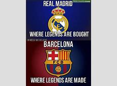 The real difference between Real Madrid and FC Barcelona