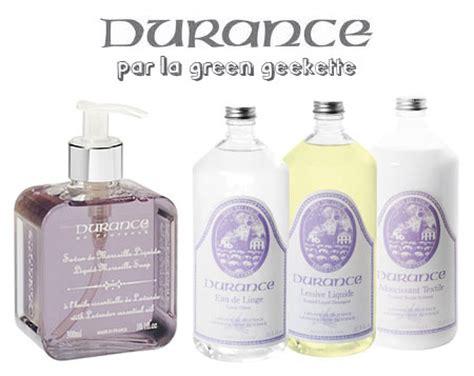 durance eau de linge durance soin du linge soin de la maison the green geekette