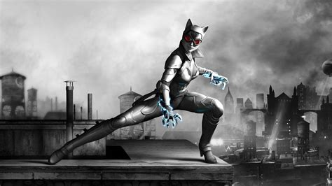 catwoman video games dc comics wallpapers hd desktop