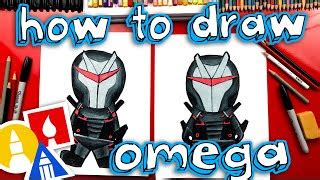 How To Draw Omega Upgraded Fortnite Youtube