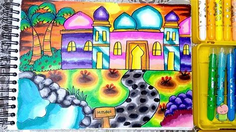 pemandangan masjid