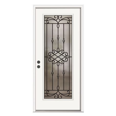 front door home depot jeld wen 36 in x 80 in 12 lite primed premium steel