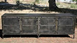 Made Com Sideboard : buy a hand crafted buffet hutch all steel reclaimed wood ~ Michelbontemps.com Haus und Dekorationen