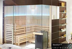Sauna Anbieter Deutschland : lauraline sauna design mit glas massivholzsauna oder ~ Lizthompson.info Haus und Dekorationen