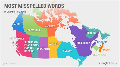 google reveals top   spell searches  canadian