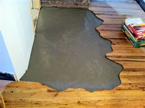 Replacing Wooden Floor With Concrete Morespoons