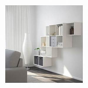 Ikea Eket Ideen : eket kastencombinatie voor wandmontage wit ikea wonen pinterest ikea en boekenkasten ~ A.2002-acura-tl-radio.info Haus und Dekorationen
