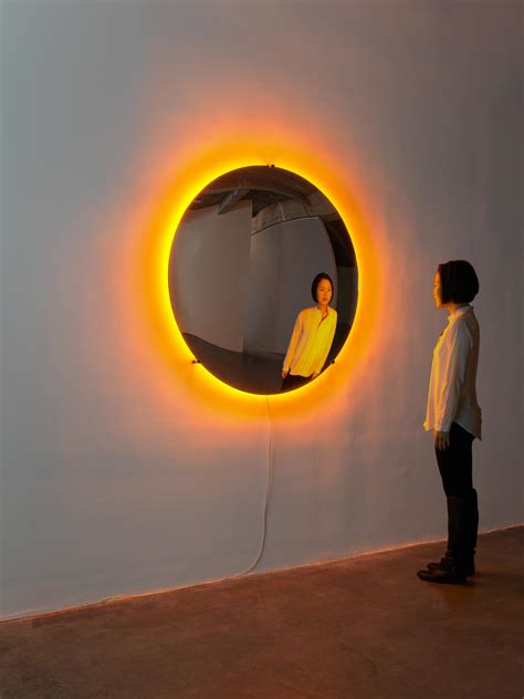 mirror lights midnight sun artwork studio olafur eliasson