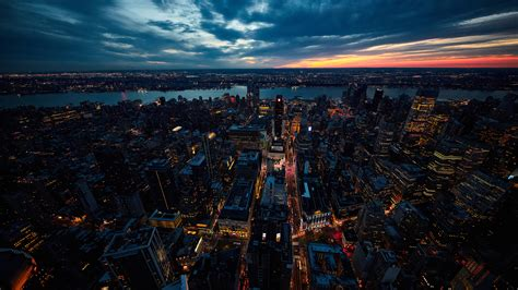 sunset  york city laptop full hd p hd