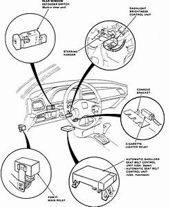 How Do I Disconnect The Seat Belt Warning Beeper  Signal