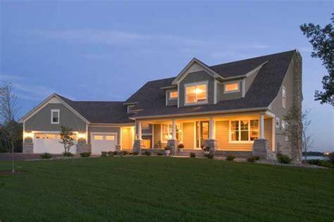farmhouse home plan house plan    plan collection