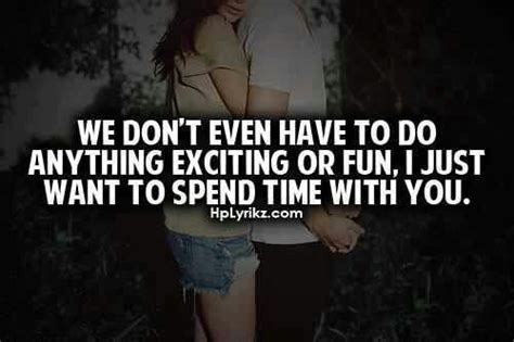 L Love Spending Time With You Quotes