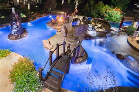 house plans with swimming pools signature project ranch lazy river by custom design pools