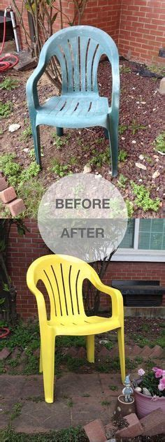 17 best ideas about painting plastic chairs on