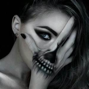 Make Up Ideen : coole halloween schmink ideen ~ Buech-reservation.com Haus und Dekorationen