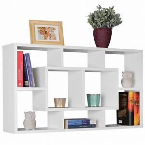 étagères Murales Design : etag re murale design moderne alex d cor blanc meubles de rangement biblioth que etag re ~ Teatrodelosmanantiales.com Idées de Décoration