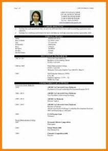 college resume sle template 4 cv sle fresh graduate rn cover letter