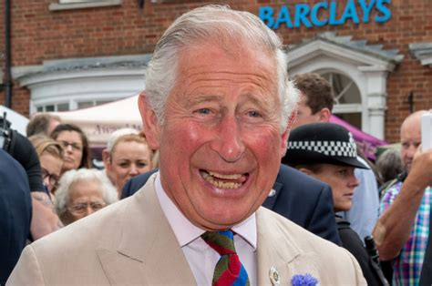 prince charles   shoelaces ironed  morning