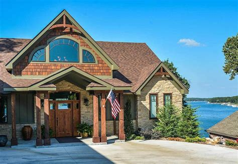 Plan 92350MX: Rustic Escape Home Plan in 2020 Lake house