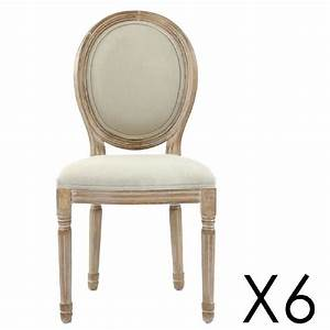 Chaise Medaillon Blanche : chaise medaillon contemporaine tissu foirfouille fushia redoute blanche transparente vieux blanc ~ Teatrodelosmanantiales.com Idées de Décoration