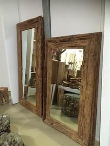 Spiegel Mit Schmuckaufbewahrung : spiegel teakholz recycled wandspiegel holzrahmen ma e 160 x 100 cm ~ Indierocktalk.com Haus und Dekorationen