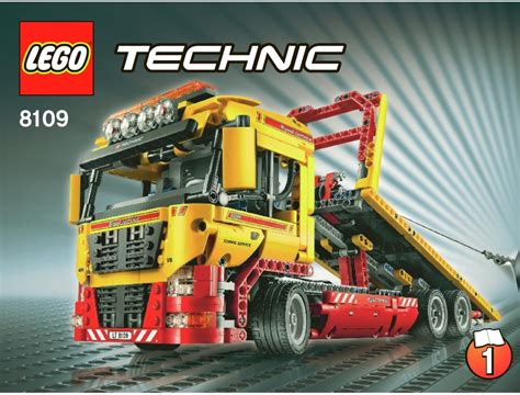 technic truck technic truck instructions 8109 technic