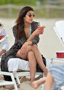 PRIYANKA CHOPRA at a Beach in Miami Beach 05/14/2017 ...