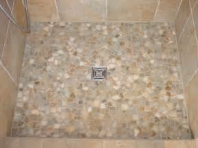 pebble shower floors for tiled showers how to install small tile for shower floor in