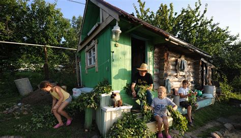 country kitchen pictures the dacha where disappear to in summer russia