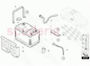 Lamborghini Urus Battery Parts