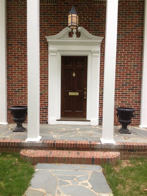 Southern Colonial Revival  Story Columns Broken