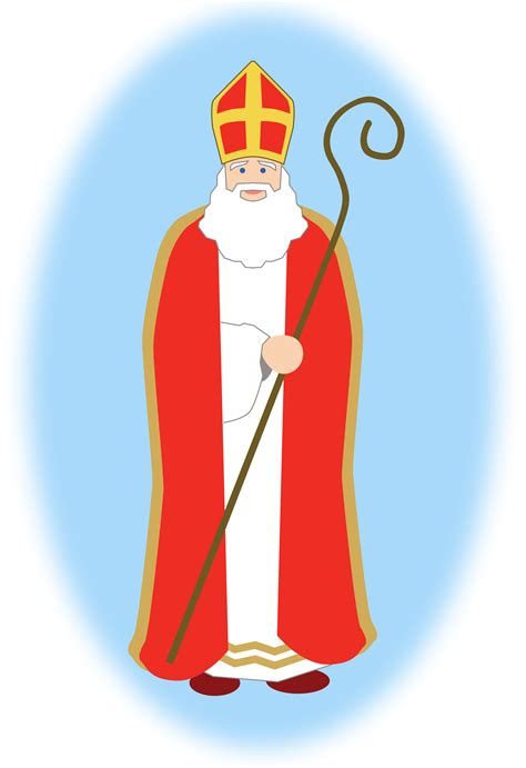 library  saint nick svg  png files clipart art