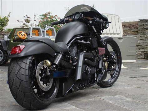 Harley Davidson V-rod Muscle In Matte Black! Beautiful