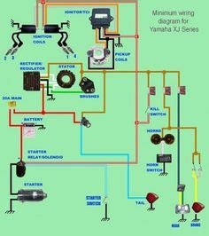 1979 Xs650 Electronic Ignition Wiring Diagram by Xs650 Simplified And Complete Wiring Diagram Electrical