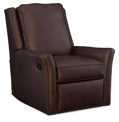 leather swivel recliner barnes leather swivel rocker recliner by bradington