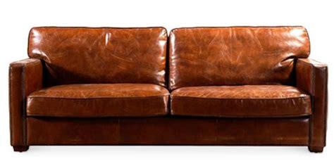 canap cuir marron canapé 3 places cuir marron vintu lestendances fr