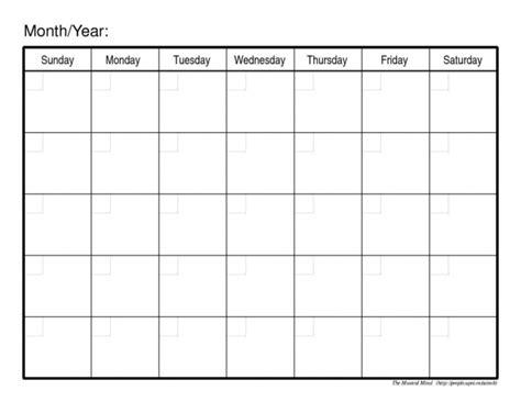 create calendar printable calendar