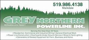 Grey Northern Powerline Inc - Opening Hours
