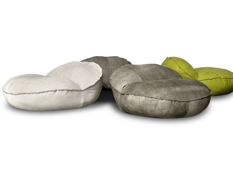 leather bean bag montreal by baxter design navone