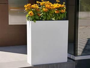 Blumenkübel Als Raumteiler : raumteiler divido compact l61x b20x h65cm aus fiberglas in ~ Michelbontemps.com Haus und Dekorationen