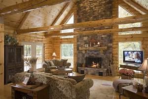 Luxury Log Home Great Rooms Farmersagentartruiz com