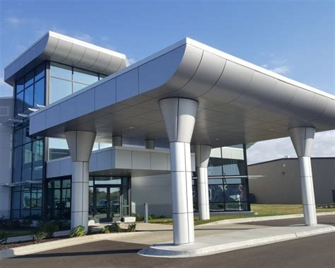 aluminum composite material architectural panel systems