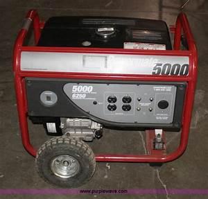 Coleman Powermate 5000 Generator