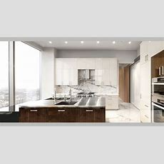 White Marble Apartment  Po Ku Custom Luxury Home Builders