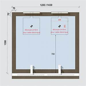 miroir avec applique With porte d entrée alu avec miroir salle de bain led 140 cm